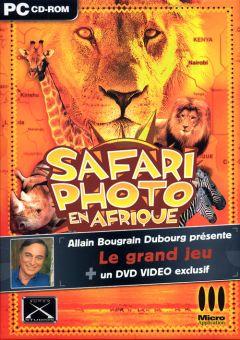 Jaquette de Safari Photo en Afrique PC
