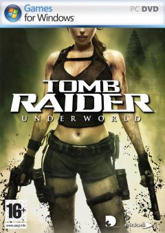 Jaquette de Tomb Raider Underworld PC