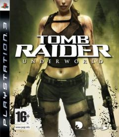 Jaquette de Tomb Raider Underworld PlayStation 3