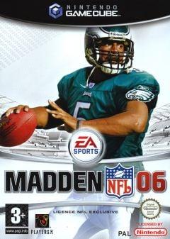 Jaquette de Madden NFL 06 GameCube