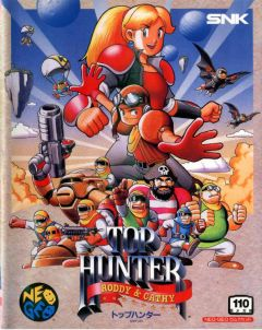 Jaquette de Top Hunter NeoGeo