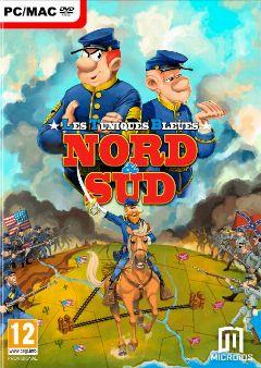 Jaquette de Les Tuniques Bleues Nord & Sud PC