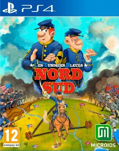 Jaquette de Les Tuniques Bleues Nord & Sud PS4