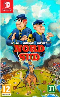 Jaquette de Les Tuniques Bleues Nord & Sud Nintendo Switch