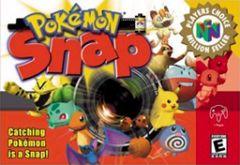 Jaquette de Pokémon Snap Nintendo 64