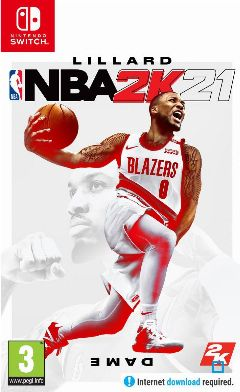 Jaquette de NBA 2K21 Nintendo Switch