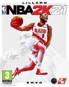 Jaquette de NBA 2K21 Google STADIA