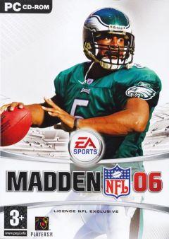 Jaquette de Madden NFL 06 PC