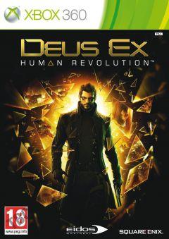 Jaquette de Deus Ex : Human Revolution Xbox 360