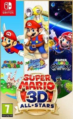 Jaquette de Super Mario 3D All-Stars Nintendo Switch