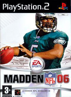 Jaquette de Madden NFL 06 PlayStation 2