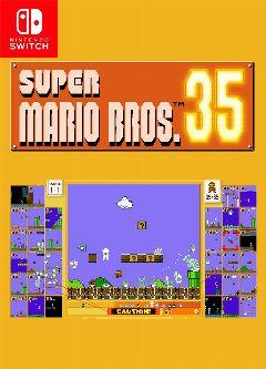 Jaquette de Super Mario Bros. 35 Nintendo Switch