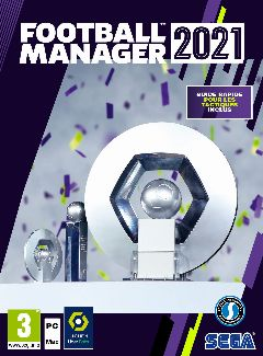 Jaquette de Football Manager 2021 Xbox Series