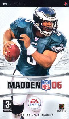 Jaquette de Madden NFL 06 PSP