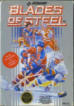 Jaquette de Blades of Steel NES