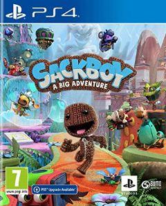 Jaquette de Sackboy : A Big Adventure PS4