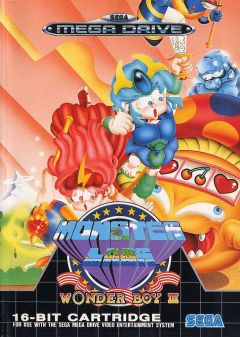 Jaquette de Wonder Boy III : Monster Lair Mega Drive