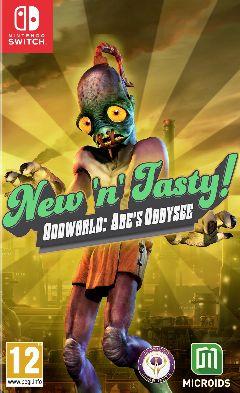 Jaquette de Oddworld : New 'n' Tasty ! Nintendo Switch