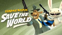 Jaquette de Sam & Max Save The World Remastered Nintendo Switch
