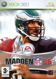 Jaquette de Madden NFL 06 Xbox 360