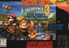 Jaquette de Donkey Kong Country 3 : Dixie Kong's Double Trouble ! Super NES
