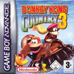 Jaquette de Donkey Kong Country 3 : Dixie Kong's Double Trouble ! Game Boy Advance