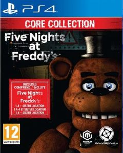 Jaquette de Five Nights at Freddy's : Core Collection PS4