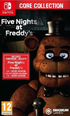 Jaquette de Five Nights at Freddy's : Core Collection Nintendo Switch