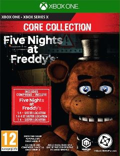 Jaquette de Five Nights at Freddy's : Core Collection Xbox One