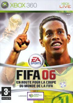 Jaquette de FIFA 06 : En route pour la Coupe du Monde de la FIFA Xbox 360