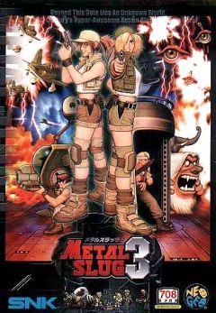 Jaquette de Metal Slug 3 NeoGeo