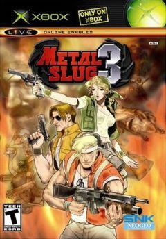 Jaquette de Metal Slug 3 Xbox