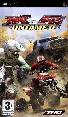 Jaquette de MX Vs. ATV : Extrême Limite PSP