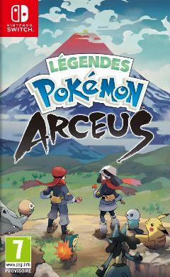 Jaquette de Légendes Pokémon Arceus Nintendo Switch
