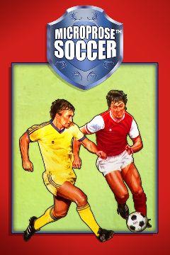 Jaquette de MicroProse Soccer Amiga
