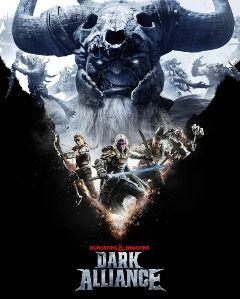 Jaquette de Dungeons & Dragons : Dark Alliance PS5