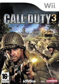 Jaquette de Call of Duty 3 : En marche vers Paris Wii