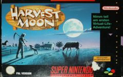 Jaquette de Harvest Moon Super NES