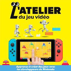 Jaquette de L'Atelier du Jeu Vidéo Nintendo Switch