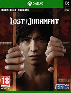 Jaquette de Lost Judgment Xbox One