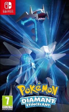 Jaquette de Pokémon Diamant Étincelant Nintendo Switch