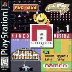 Jaquette de Namco Museum Vol. 1 PlayStation