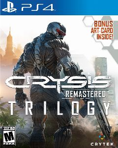 Jaquette de Crysis Remastered Trilogy PS4