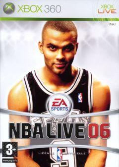 Jaquette de NBA Live 06 Xbox 360