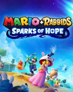 Jaquette de Mario + The Lapins Crétins Sparks of Hope Nintendo Switch