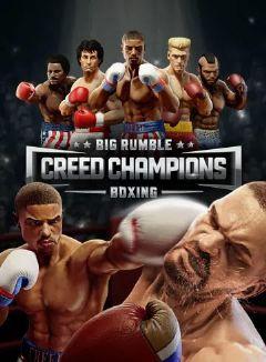 Jaquette de Big Rumble Boxing Creed Champions PS4