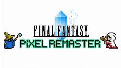 Jaquette de Final Fantasy Pixel Remaster PC