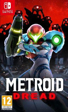 Jaquette de Metroid Dread Nintendo Switch