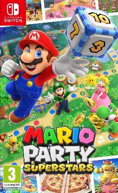 Jaquette de Mario Party Superstars Nintendo Switch