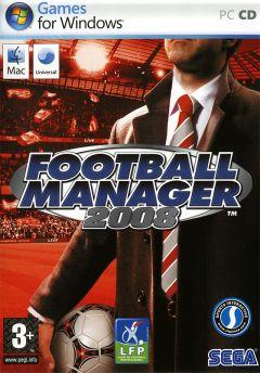 Jaquette de Football Manager 2008 PC